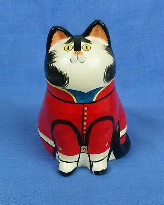 Vintage Oriental Chinese / Japanese Pottery Ceramic Cat Cute!