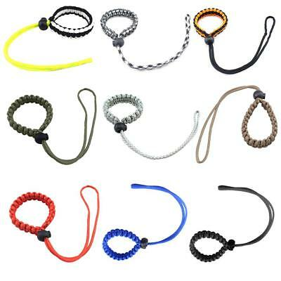 Braided Paracord Wrist Strap Lanyard for Canon Nikon Sony DSLR SLR Camera