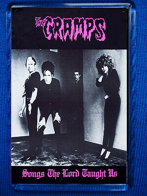 The Cramps - Songs The Lord Taught Us Fridge Magnet