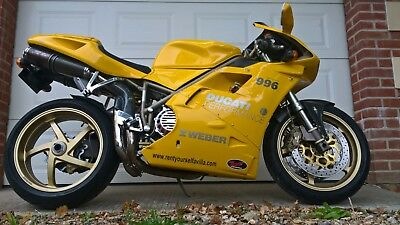 Ducati 996 sports bike, mint condition, 10,000 miles, collectable model, OFFERS
