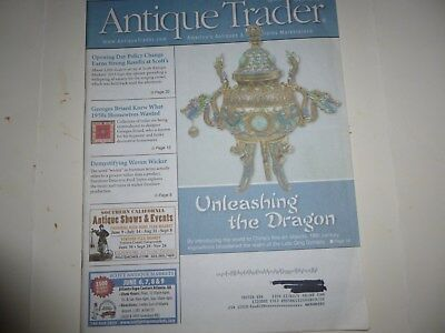 Antique Trader Magazine - May 29, 2013 - China's Fine Art; Wicker Furniture