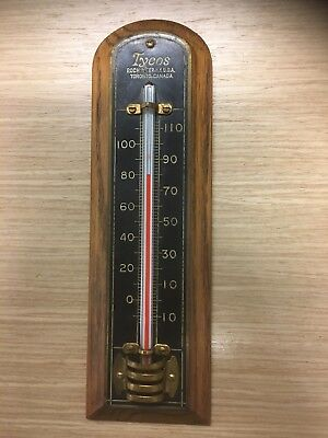VINTAGE WOODEN BATH Wall Thermometer - $12.50 | PicClick