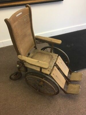 Vintage Antique Gendron Oak Wheel Chair   (make offer) local pick-up