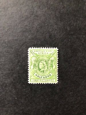 British East Africa 1896 Q.V. CCA MH 1/2a Green SG 65