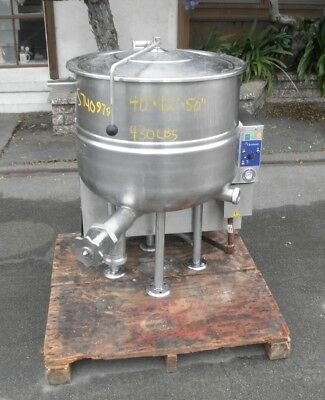 40 Gallon Stainless Steel Cleveland Gas-Fired Kettle