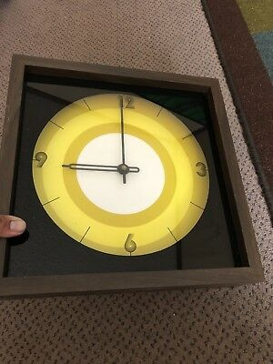 Vintage 1980s Retro Wall Clock