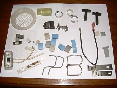 GROUP OF GENUINE Used Electrolux Vacuum Cleaner & Power Nozzle Parts