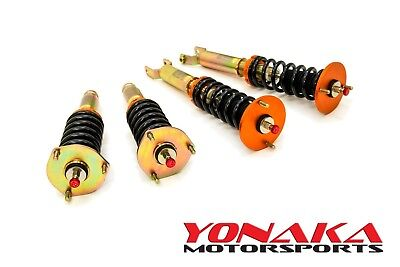 Yonaka Honda Prelude 92-01 Spec 2 Coilovers Lowering Kit BB1 Shocks Springs