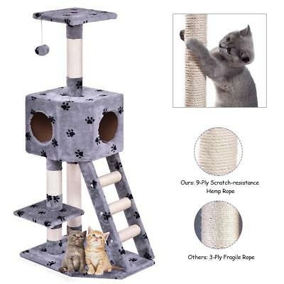 Cat Tree for large cats kitty pet furniture multi-level, activity centre tower