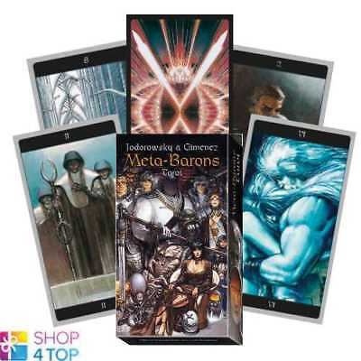 Meta-Barons Tarot Deck Cards Esoteric Fortune Telling Lo Scarabeo New