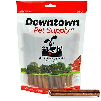 "6"" inch THICK BULLY STICKS Natural Dog Treats Chews USDA & FDA Approved"