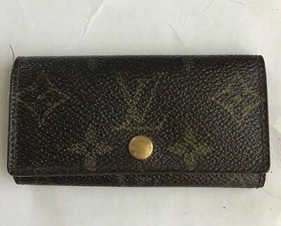 9fd1ad1b32ae AUTHENTIC LOUIS VUITTON Key Poll 50 Boston bag M41426 Monogram ...