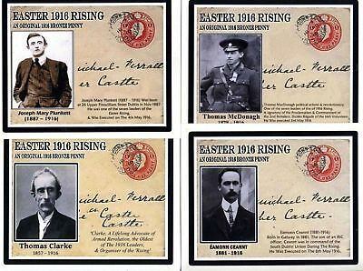 Ireland Easter 1916 Commemorative Cards (The Full Set) & Extra FREE
