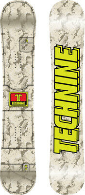 BRAND NEW Technine RANGER Snowboard LIGHT GREY 151cm DS17 LIMITED RELEASE RARE
