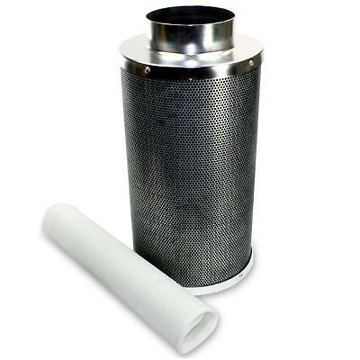 """Ventech 6""""x20"""" Hydroponic Carbon Charcoal Air Scrubber Oder Control Filter"""