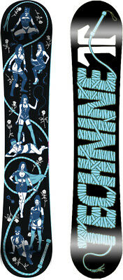 BRAND NEW Technine WOMENS FETISH Snowboard 142cm BLACK TECH9 DS17 LIMITED
