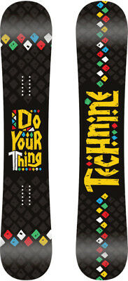 BRAND NEW Technine DO YOUR THING Snowboard 130cm BLACK DS17 LIMITED RELEASE