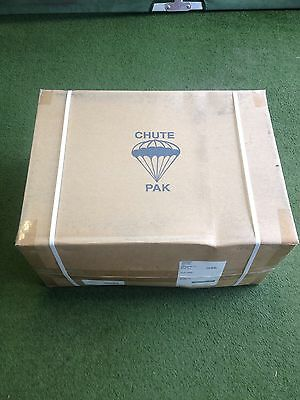 New/Unissued Grey T-10D 35'Diameter Parachute complete with lines and harness