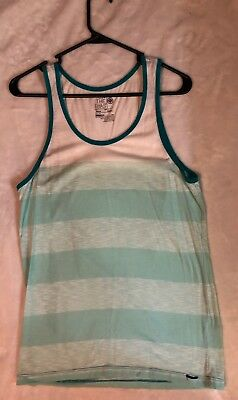 04e9abb25f37f Mens ON THE BYAS Mint Colored Tank Top Size Small