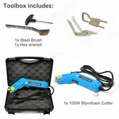 Electric Hand Held Hot Heating Knife Cutter 100W Non-Woven Fabric Cutting