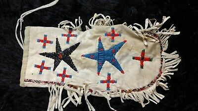 SIOUX BEADED PIPE BAG Santee or Eastern Sioux