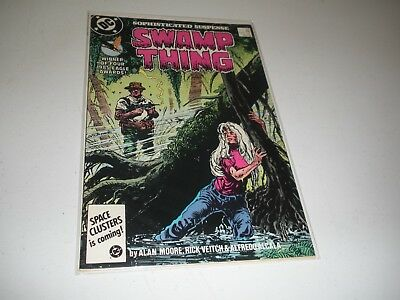 Swamp Thing #54 Alan Moore 1986 copper age DC comic book