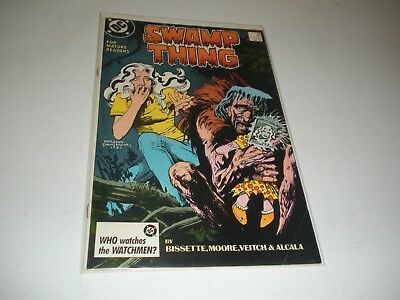 Swamp Thing #59 Alan Moore 1987 copper age DC comic book