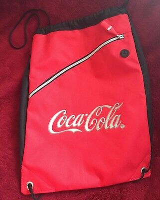 Coca-Cola Draw String Backpack - NEW