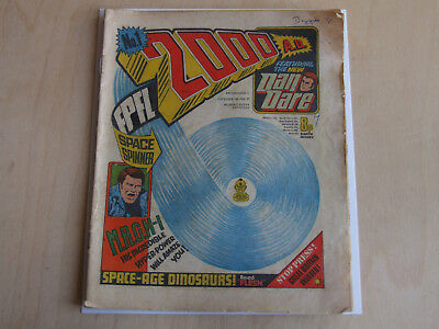 2000 AD prog programme 1 IPC 1977 First issue