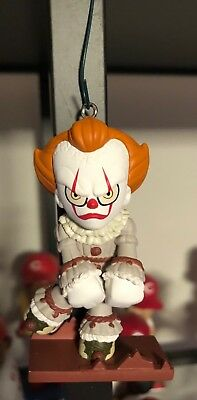 "Pennywise IT Ornament OOAK Funko 3"" Custom Christmas 2018 Mini Horror Skating"