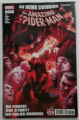 The Amazing Spider-Man # 800 Main Alex Ross Cover A Marvel Comics NM Unread