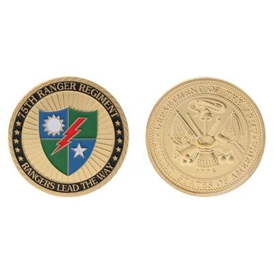 Commemorative Coin 75th Ranger Regiment US Army Collection Arts Gifts Souvenir