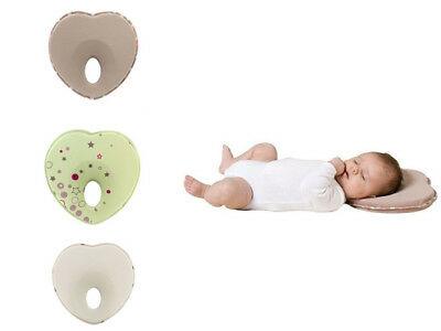 Prevent Neck Support Flat Head Memory Foam Pillow Newborn Infant Baby Anti Roll