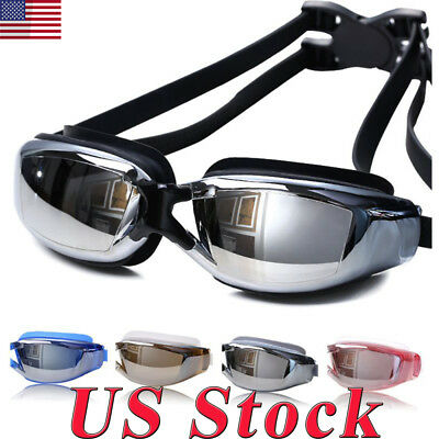 New Swimming Waterproof Professional Anti-fog Glasses UV Protection HD Goggles