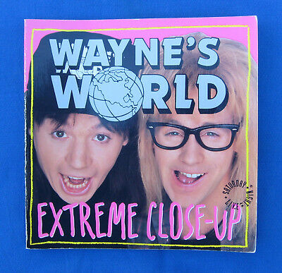 "Wayne's World-""Extreme Close-Up Book"" Saturday Night Live-Mike Myers-Dana Carvey"