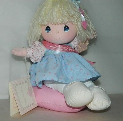Collectible 1988 Precious Moments Musical Doll By Applause VALERIE With Tag