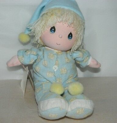 Collectible 1985 Precious Moments Musical Doll By Applause FRANKIE With Tag 4508