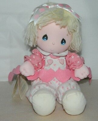 Collectible 1986 Precious Moments Musical Doll By Applause JESSIE With Tag 20018