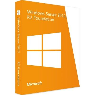Windows Server 2012 R2 Foundation - Vollversion - Download
