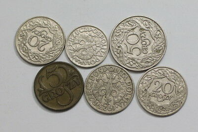 Poland Old Coins Useful Lot A83 Rzr3