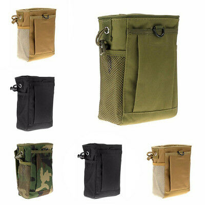 Hunting Belt Pouch Dump Belt Storage Bag Tactical Magazine Military Molle
