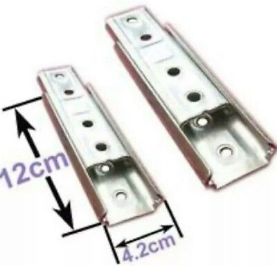 Headboard Wall mount fixing Bolt KD Sliding Bracket Set of 2 (same as in Photo)