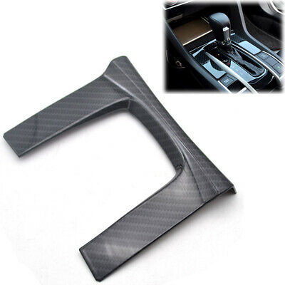 Shift Gear Panel Trim Cover For Honda Civic 16-18 10th Gen Sedan Coupe Hatchback