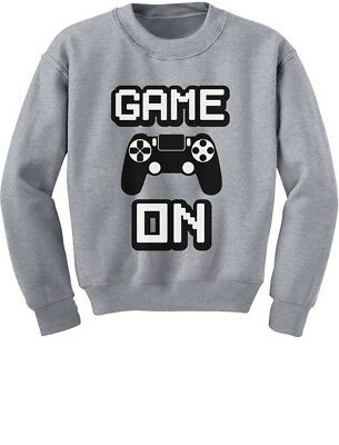 Game On - Awesome Gift For Gamers - Gaming Gamer Youth Kids Sweatshirt Video