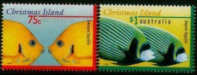 Christmas Island 1995 MNH MUH Set - Fish