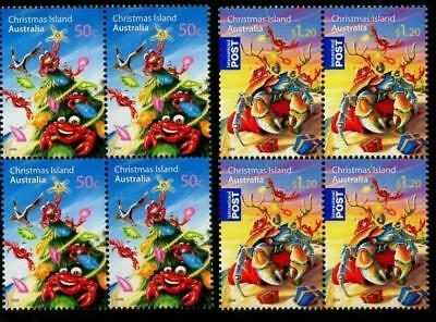 Christmas Island 2008 MNH MUH Block of 4 Set - Christmas