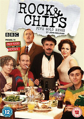 ROCK AND CHIPS TFive Gold Rings DVD Nicholas Lyndhurst Kacey Ainsworth UK New R2