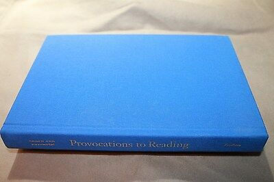 Provocations to Reading : J. Hillis Miller and the Democracy to Come (2005, Hard