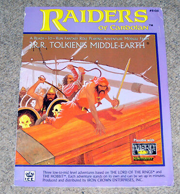 Raiders of Cardolan MERP adventure module ICE Middle-earth Rolemaster