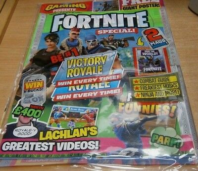 110% Gaming magazine presents Fortnite Special #2: Victory Royale Combat Guide &